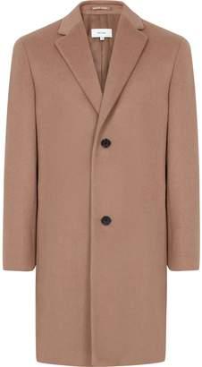 Reiss London - Wool Blend Overcoat in Soft Pink