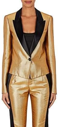 Lanvin Women's Lamé Tuxedo Jacket