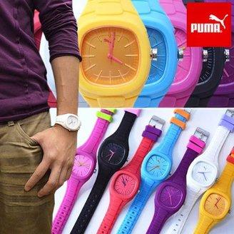 Puma (プーマ) - 腕時計 PUMA TIME プーマ タイム ラバーベルト ユニセックス