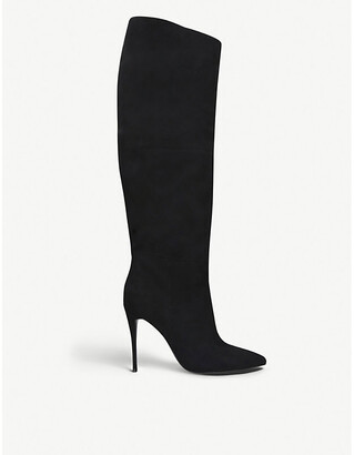 Steve Madden Dakota suede knee-high boots