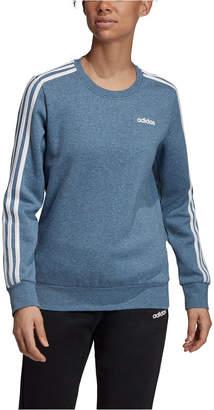 adidas Essentials 3-Stripe Fleece Sweatshirt