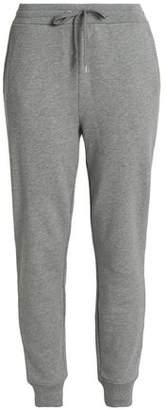Alexander Wang Mélange Cotton-Blend Track Pants