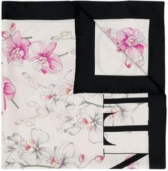 Valentino orchid print scarf