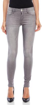 dollhouse Grey Skinny Jeans $44 thestylecure.com