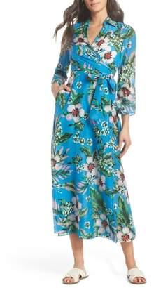 Diane von Furstenberg Cover-Up Wrap Dress
