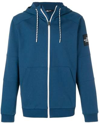 The North Face zipped hoodie