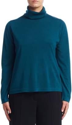 Marina Rinaldi Turtleneck Wool Sweater