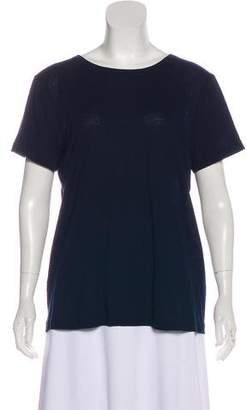 Helmut Lang Accented Short-Sleeve Top w/ Tags