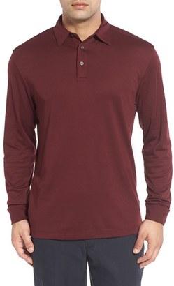 Men's Cutter & Buck 'Belfair' Pima Cotton Polo $78 thestylecure.com