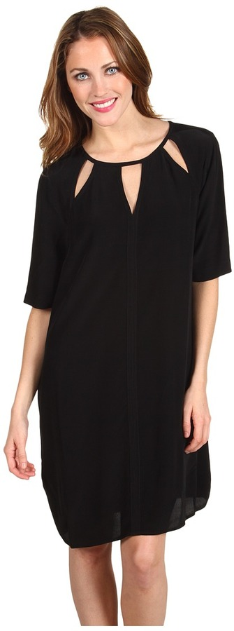 BCBGMAXAZRIA - Rosetta Cutout Detail Shift Dress
