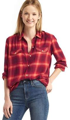 Gap + Pendleton boyfriend shirt