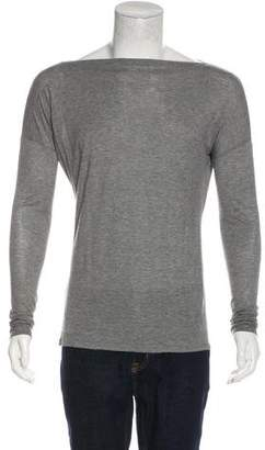 Vince Woven Crew Neck Sweater