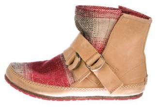 Sorel Suede Ankle Boots