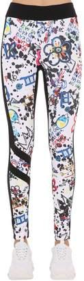 NO KA 'OI No Ka'oi Kuku Kala Printed Leggings
