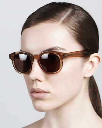 Illesteva Murdoch II Round Sunglasses