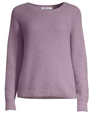 Max Mara Osteo Long Sleeve Cashmere& Silk Sweater