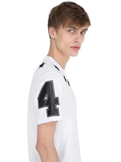 Cuban Star Patches Jersey T-Shirt 10