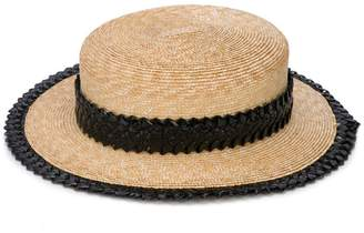 Gigi Burris Millinery small straw hat