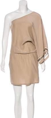 Karina Grimaldi One-Shoulder Mini Dress