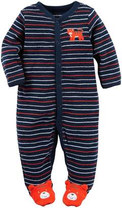 """Carter's Baby Boys' """"Sleepy Tiger"""" Footed Coverall"""