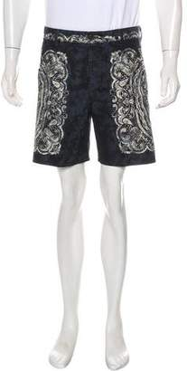Just Cavalli Woven Patterned Shorts