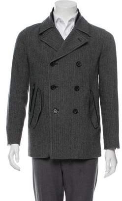 Theory Herringbone Double-Breasted Jacket