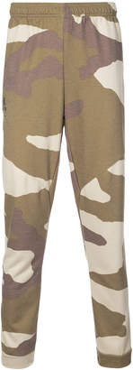 adidas Undefeated camouflage trousers