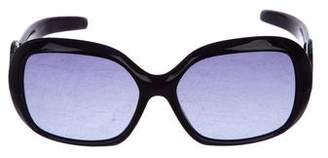 Emilio Pucci Embellished Gradient Sunglasses