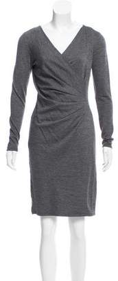 Max Mara Long Sleeve Mini Dress