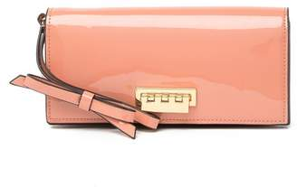 Zac Posen Earthette Patent Leather Wristlet Wallet