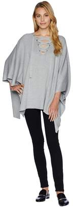 Bishop + Young Harper Poncho Women's Sweater