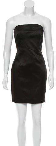 MICHAEL Michael KorsMichael Kors Collection Strapless Satin Dress