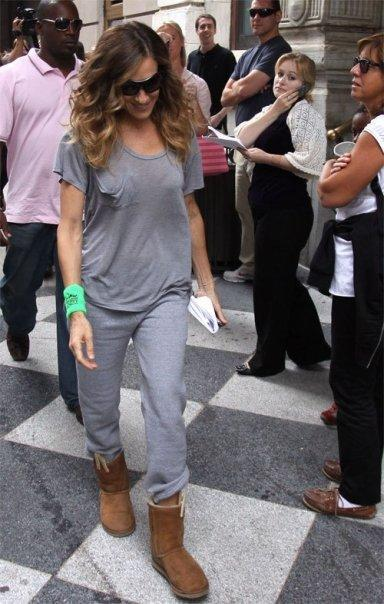 Kain Label Short Sleeve Pocket Tee in Black Grey Navy and White - as seen on Sarah Jessica Parker