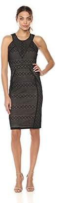BCBGMAXAZRIA Azria Women's Dena Knit Cocktail Dress