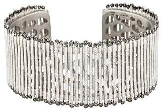 Coomi 47AG Diamond Medium Spring Cuff
