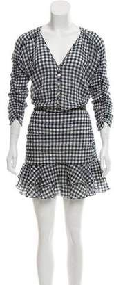 Veronica Beard Knee-Length Gingham Dress