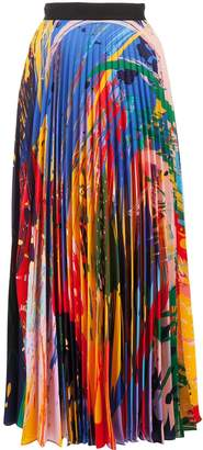 Mary Katrantzou Uni Paint Splash skirt