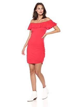 Velvet by Graham & Spencer Women's Serlina Gauzy Whisper Novelty Dress