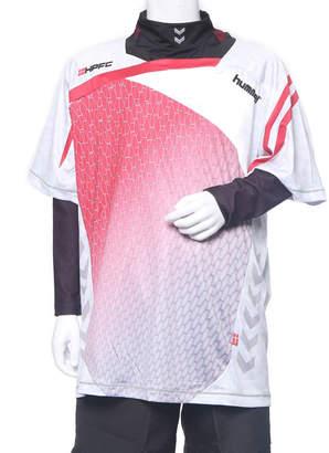 Hummel (ヒュンメル) - ヒュンメル HUMMEL ジュニア サッカー/フットサル レイヤードシャツ ジュニアプラシャツ・インナーセット HJP7103