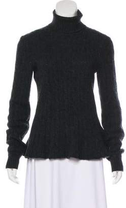 Ralph Lauren Black Label Lightweight Knit Cashmere Turtleneck