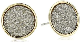 ABS by Allen Schwartz Glitter Stud Earrings