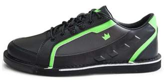 Brunswick Bowling Products Brunswick Mens Punisher Bowling Shoes Left Hand- Black/Neon Green 14 M US