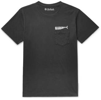 Mollusk Olde Whale Printed Cotton-Jersey T-Shirt