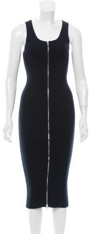 Alexander WangT by Alexander Wang Knit Midi Dress