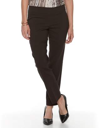 Dana Buchman Petite Slimming Solution Classic Fit Dress Pants