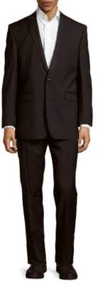 Vince Camuto Slim Fit Textured Wool Suit