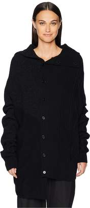 Yohji Yamamoto Y's by Intarsia Design Sweater Women's Sweater