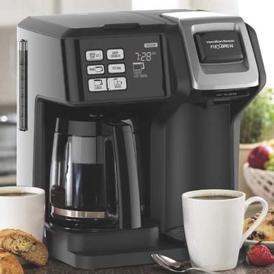 Wayfair Hamilton Beach 12-Cup FlexBrew 2-Way Coffee Maker