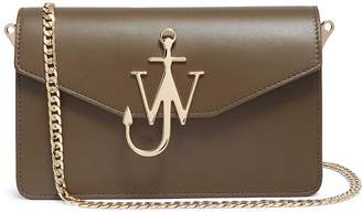 J.W.Anderson Logo plate leather shoulder bag