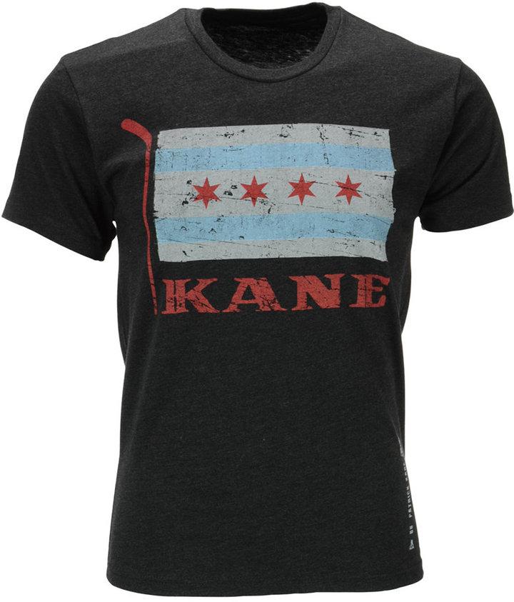 108 Stitches Men's Patrick Kane Chicago Blackhawks Flag T-Shirt